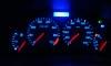 Peugeot 206 - úprava podsvícení budíků